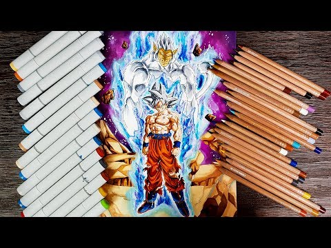 Drawing Goku MUI Great Ape Oozaru