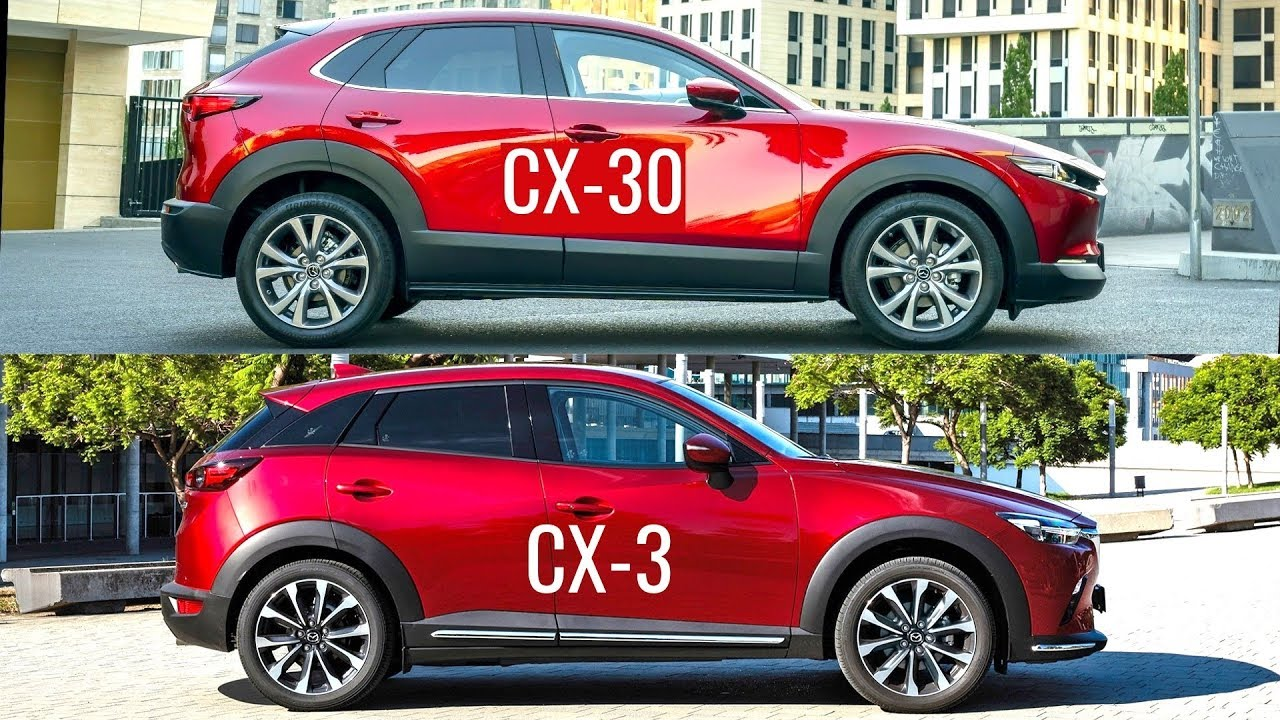 2020 Mazda Cx 30 Vs Mazda Cx 3 Youtube