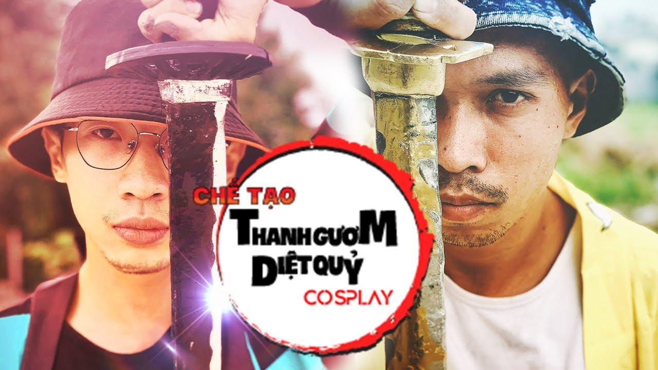 C94TV | CHẾ TẠO cosplay Thanh Gươm Diệt Q.U.Ỷ