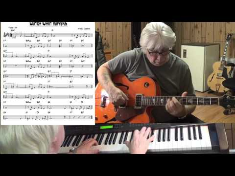 Watch What Happens - Jazz guitar & piano cover ( Michel Legrand )