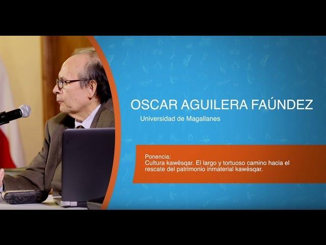VI Encuentro Binacional de Museos 2016 - Expositor Oscar Aguilera Faúndez