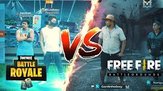 FREE FIRE VS FORTNITE 2 (VIDA REAL)
