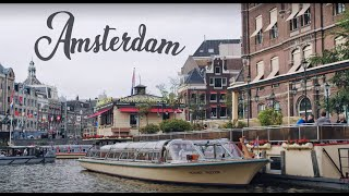 A Relaxing Trip Down Amsterdam's Waterways (4K)