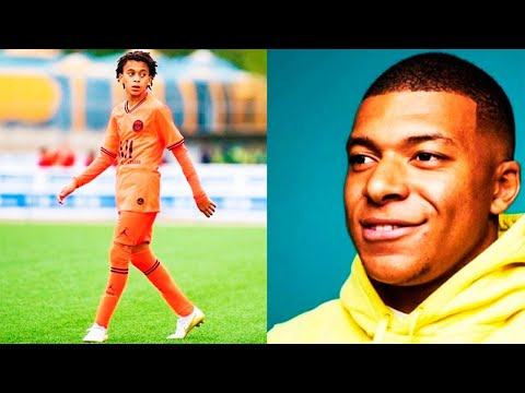 MBAPPE JUNIOR Is A FOOTBALL MONSTER! ETHAN PLAYING FOR PSG And CLOSE To FRANCE NATIONAL TEAM!