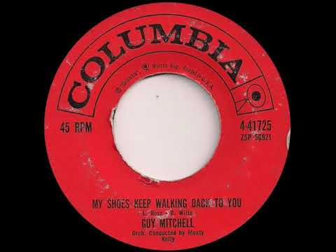 Guy Mitchell My Shoes Keep Walking Back To You Columbia 41725, 27 06 60