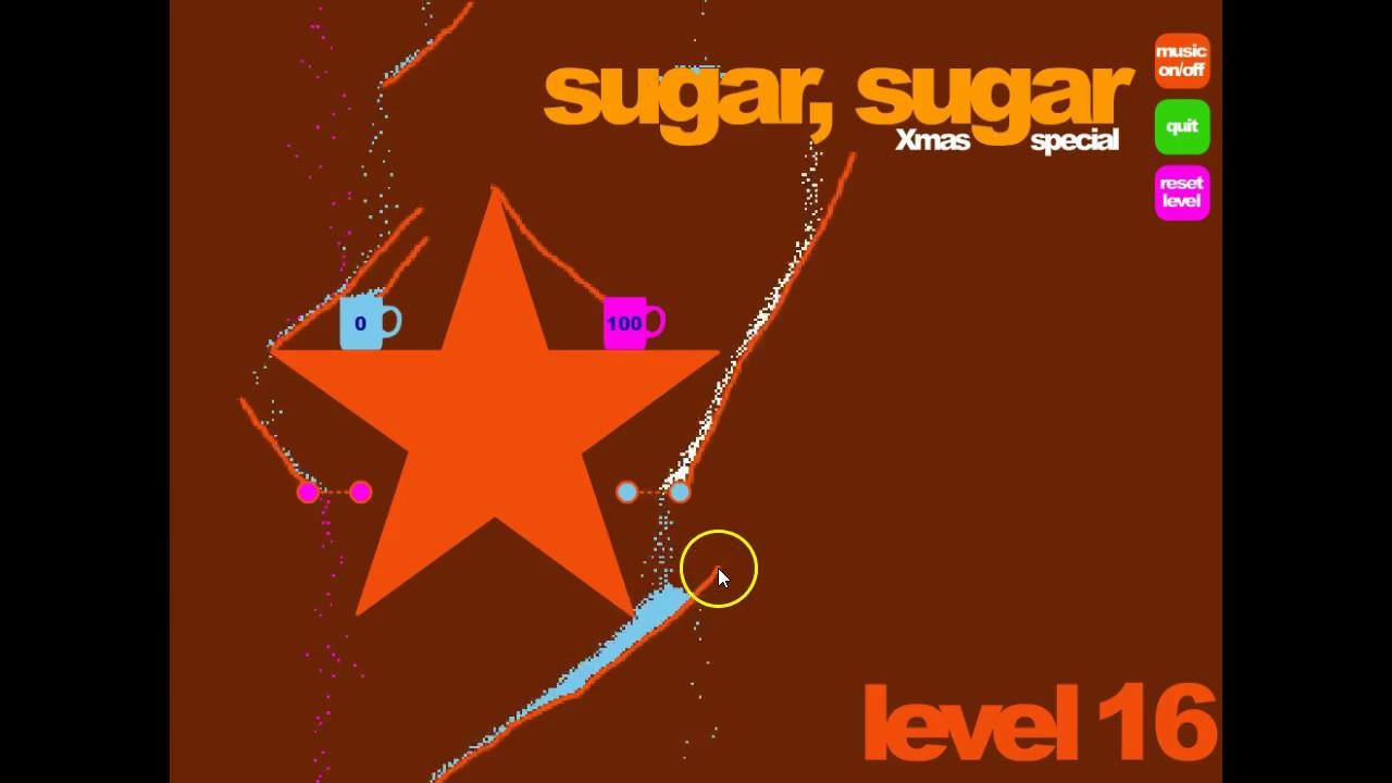 Sugar Sugar Christmas.Lets Play Flash Game Sugar Sugar Christmas Level 16