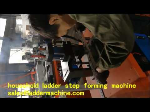Special household ladder  step forming machine for India Market