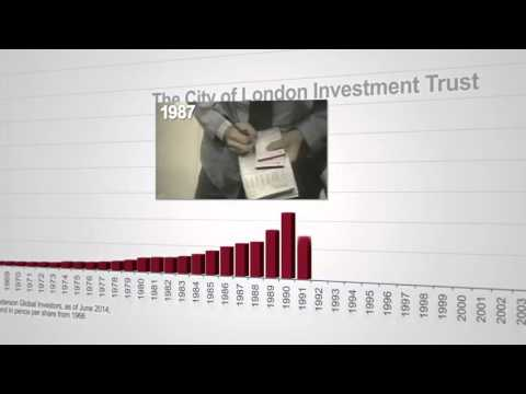 City of London Investment Trust -  50 years of increasing dividends