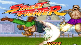 STREET FIGHTER ONE REMIX - PC LONGPLAY - CHARLIE Playthrough (NO DEATH RUN) (FULL GAMEPLAY)