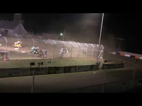 Dominic Scelzi 7-29-16 Main Event Attica Raceway