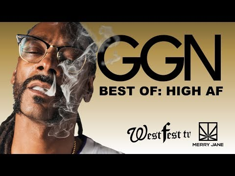 Watch The Most Memorable Moments Of Snoop And His Famous Friends Getting High AF | BEST OF GGN