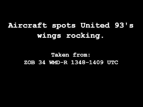 United Airlines Flight 93 ATC recording - Wings Rocking