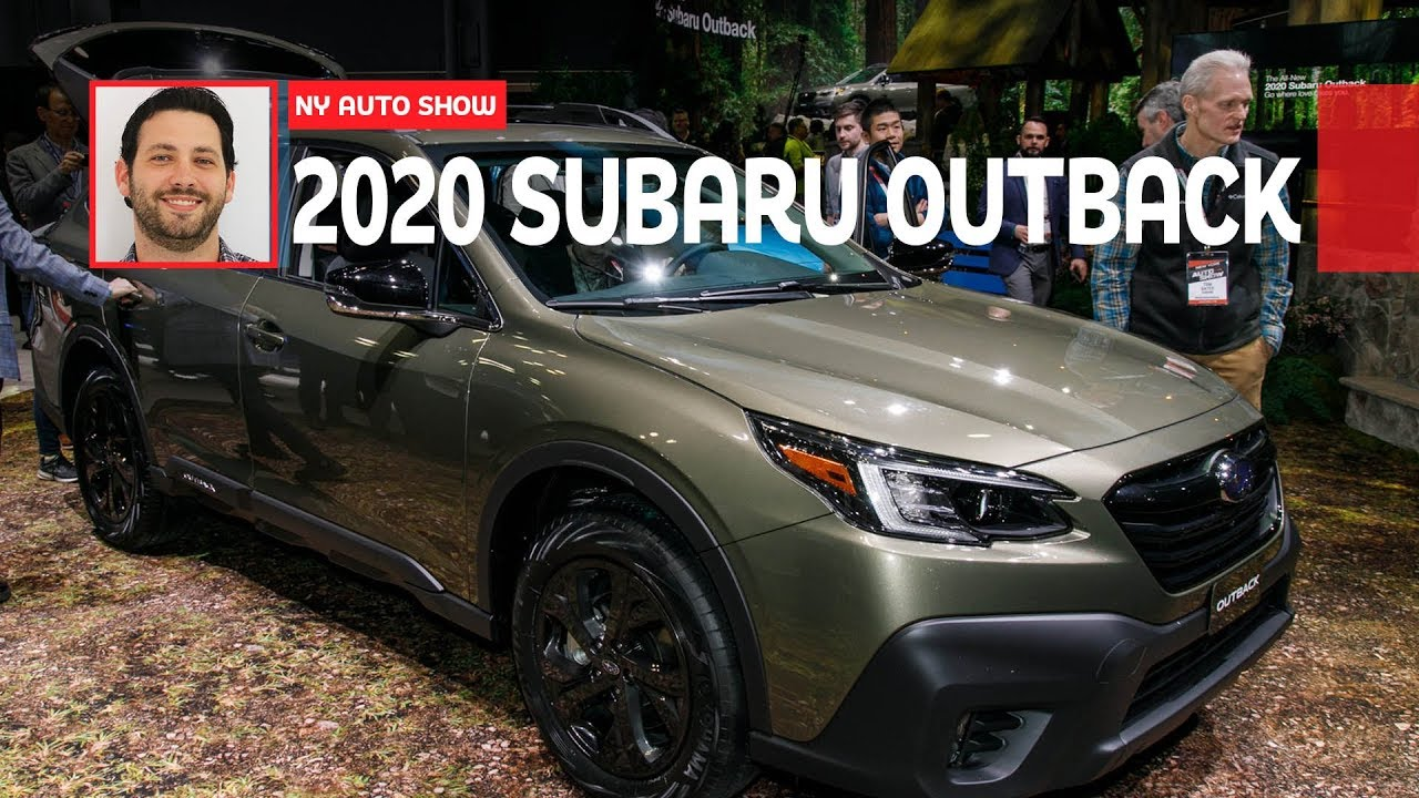 Why The 2020 Subaru Outback Is More Than Just A Legacy Wagon Youtube