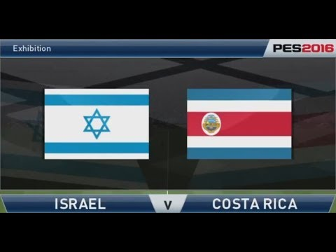 Pro Evolution Soccer 2016: Israel (Bencif) v Costa Rica (Mikey58) - Full match
