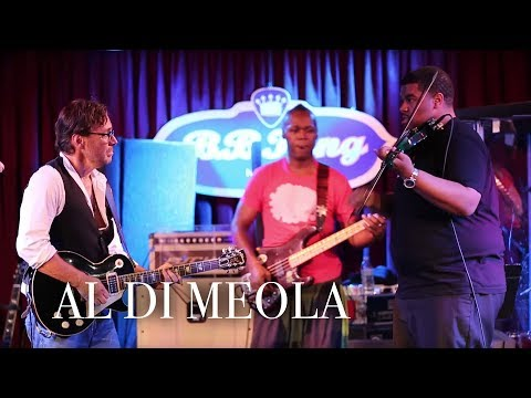 "Al Di Meola –""Race with Devil"", introducing Mr. Evan Garr on violin"