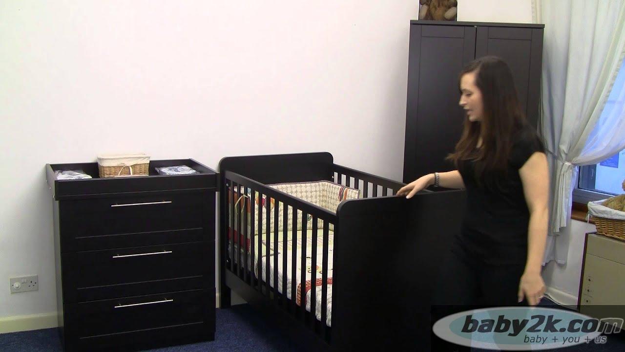 Mamas And Papas Bedroom Furniture Mamas And Papas 3 Piece Rialto Furniture Set In Espresso Youtube