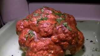 Spicy Whole Cauliflower