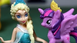 Elsa w krainie My Little Pony - Disney Frozen - bajka po polsku