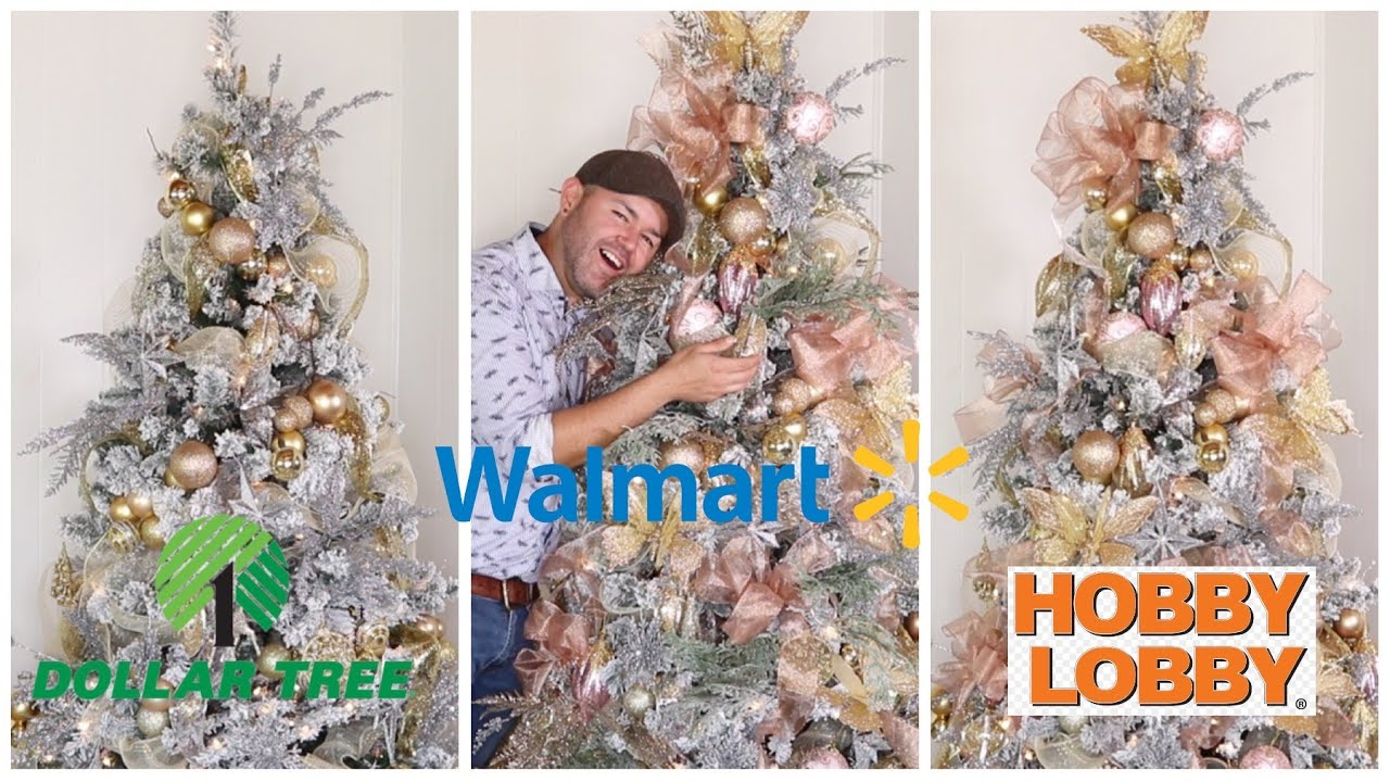 3 CHRISTMAS TREE DECOR IDEAS 2019  / How To Decorate A Tree On A Small Budget