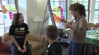 Students utilize design thinking to create the Professional Development Accelerator for Dartmouth