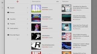 Jasmine Is a Gorgeous, Free YouTube App for iPhone and iPad