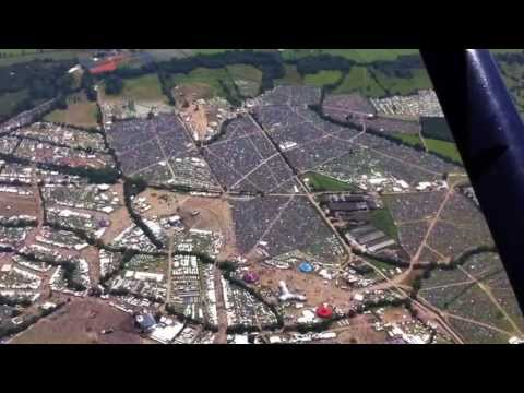Glastonbury Festival 2013 Aerial Video