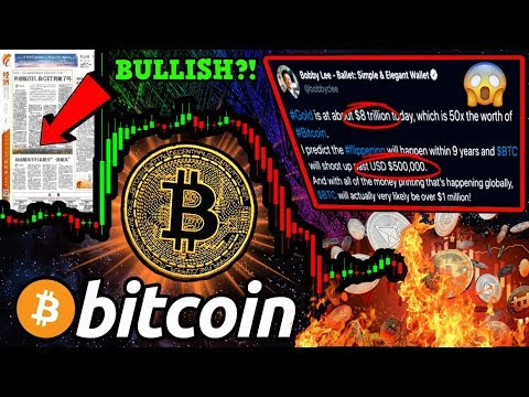 BITCOIN: WTF Just Happened?!? 〽️The REAL Reason Price DUMPED!! $500k BTC by 2028?
