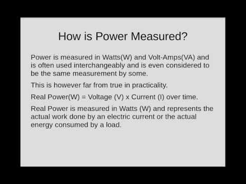 Electrical Power Factor Explained