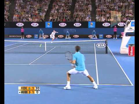 Federer v Murray: 2010 Australian Open Men's Final