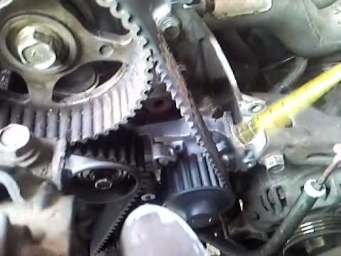 mitsubishi 6g72 wiring diagram timing belt colt ca4a youtube  timing belt colt ca4a youtube