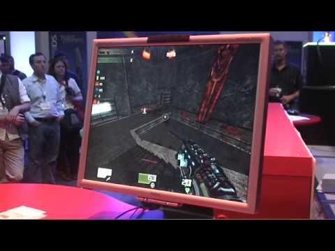 Fatal1ty Quake 4 match @ E3 2009 pt. 1 |