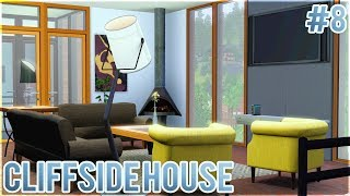 The Sims 3: Let's Build a Cliffside House (Part 8) Living Room + Foyer