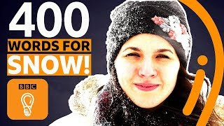 The language with 400 words for snow (and it's not Inuit) | BBC Ideas