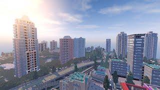La plus grosse ville dans Minecraft !