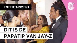 Prins Harry krijgt advies van Jay-Z bij première van The Lion King