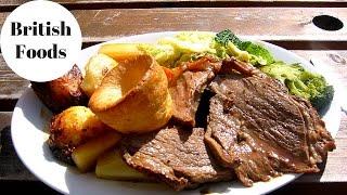 Top 10 favorite foods in Britain