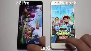 Huawei Honor 8 VS. Zuk Z2 Pro - Speed Test
