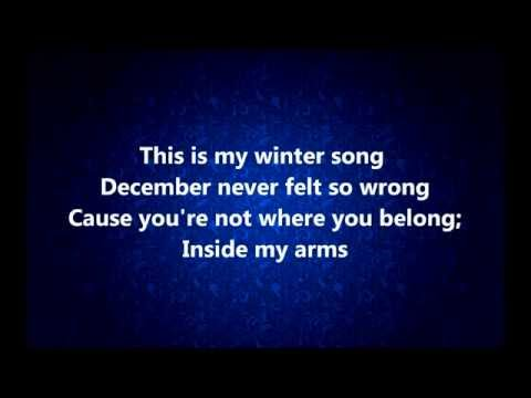 Winter song - Ingrid Michaelson  and Sara Bareilles (lyrics)