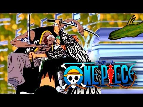 Zoro Cuts Steel! One Piece Reaction 118-120