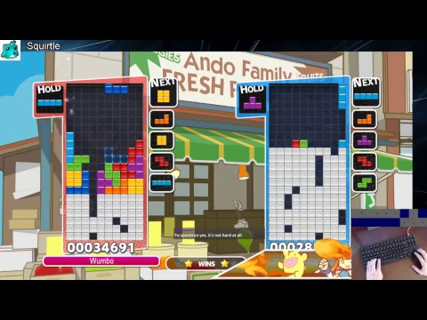 Puzzle League w/ Wumbo! Rank #1 Worldwide 23184➜23504 (PC)