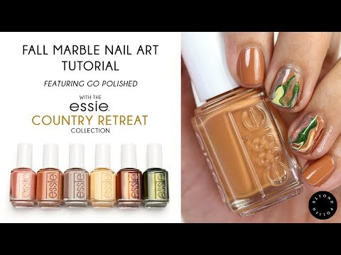 Fall Marble Nail Art Tutorial (featuring @gopolished) thumbnail