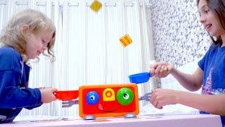 Челлендж Сумасшедший ТОСТЕР CHALLENGE  KIDS CHILDREN Развлечения для детей