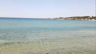 пляж Палеохора на юго-западе Крита. Очень приятное место )(2 шезлонга и зонтик стоят 5 Евро. Так как на пляже не очень много зонтов и шезлонгов, то, если Вы едете на него..., 2012-07-09T06:25:24.000Z)