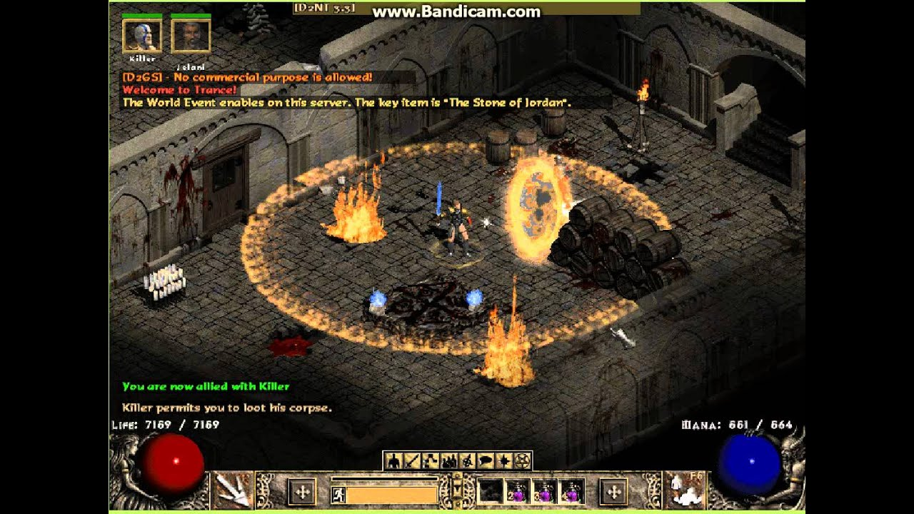 diablo 2 how to get rush