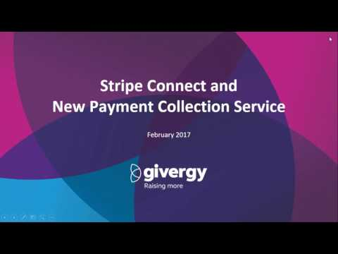 Stripe Connect Payment Collection Service - Webinar | Givergy