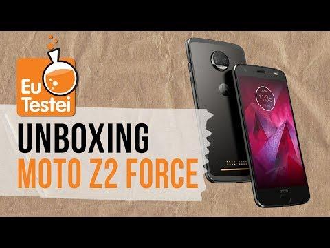 Download Youtube: Moto Z2 Force - Hands on daquele que não quebra? - Unboxing EuTestei