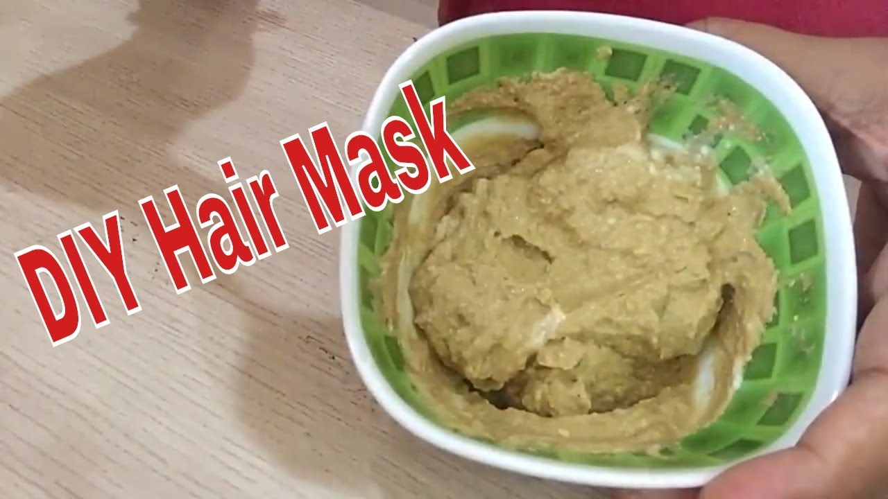Diy Multani Mitti Hair Pack In Hindi For Healthy Hair Youtube