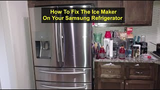 How to fix the ice maker on yo…