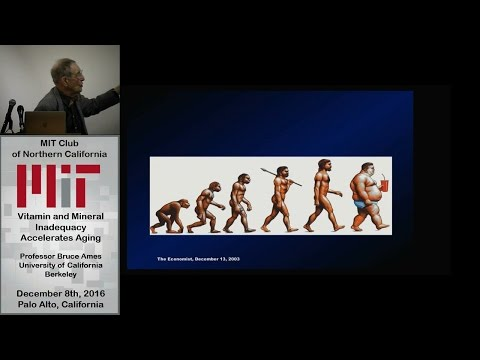 Vitamin and Mineral Inadequacy Accelerates Aging - Professor Bruce Ames, UCB