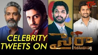 Celebrities Response On Sye Raa Narasimha Reddy